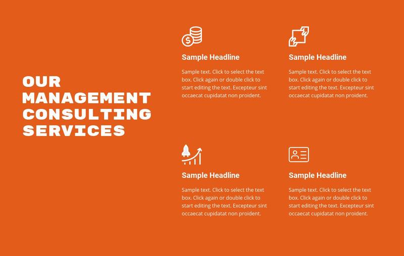 Advisory services Web Page Design