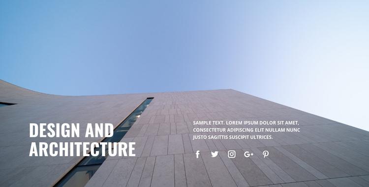 We decorate the city Website Design