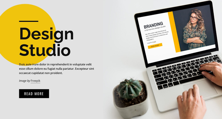 IT Software service & agency Landing Page