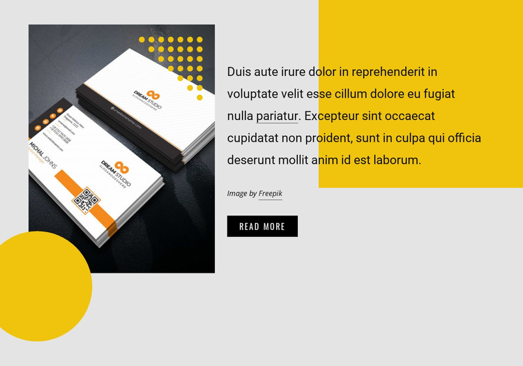 Design and communication agency Website Template