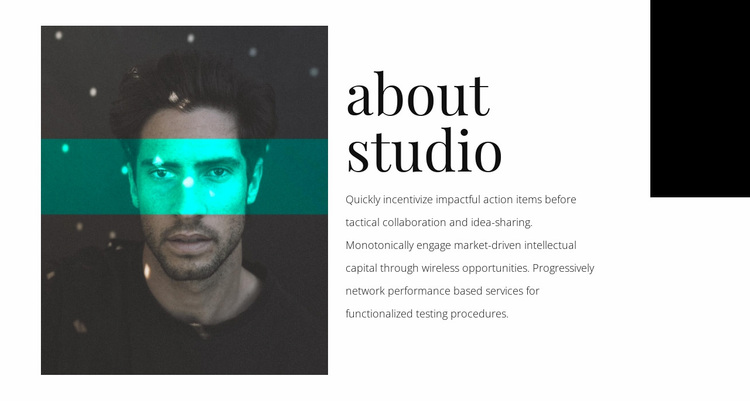 About agency studio Website Design