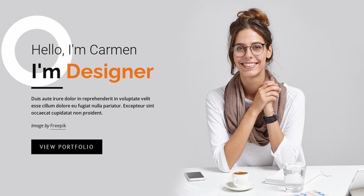 Web business development Website Template