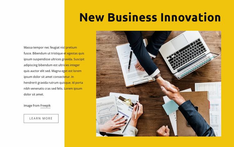 Business law innovations Html Website Builder