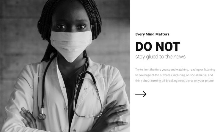 Keep calm, be healthy WordPress Theme