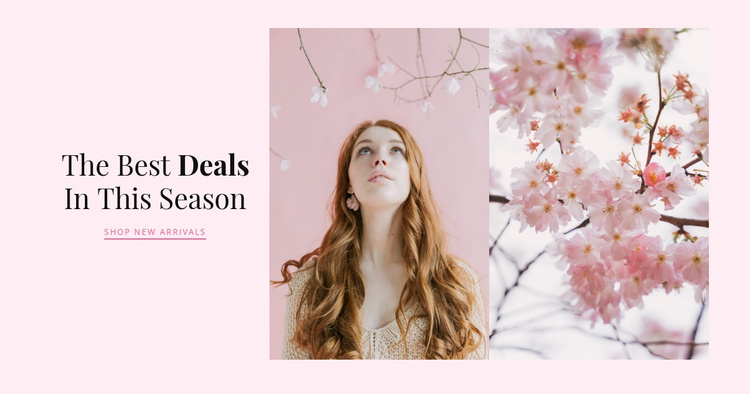 Spring accessorize Website Template