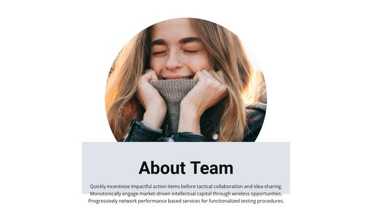 Team in creative studio Website Creator