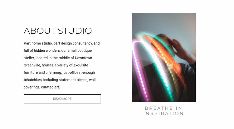 Innovation design Website Template