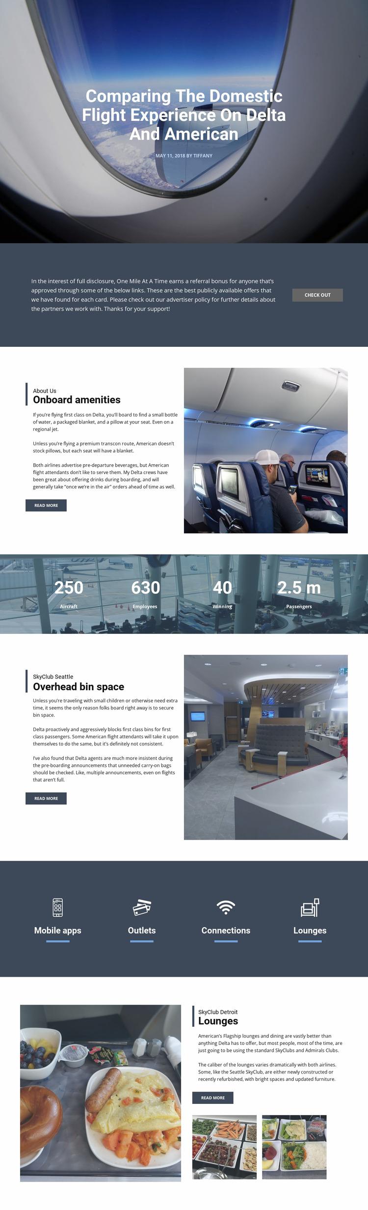 Fly Agency Html Website Builder