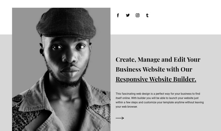 About our agency HTML Template