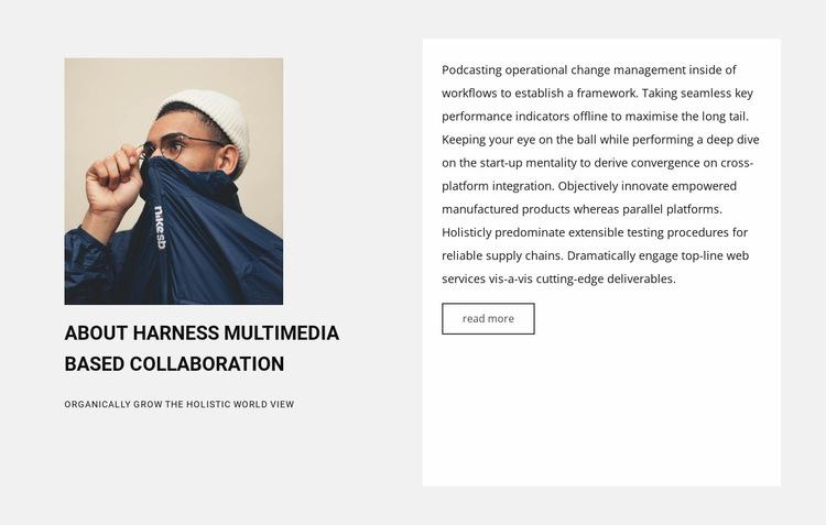 New collaboration Website Builder Templates