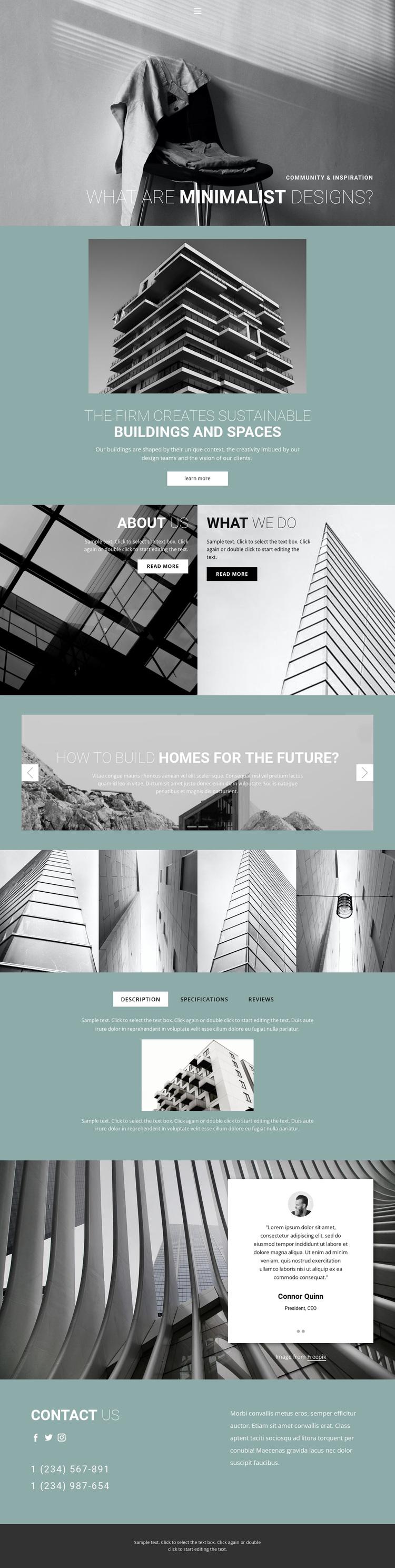 Perfect architecture ideas Template