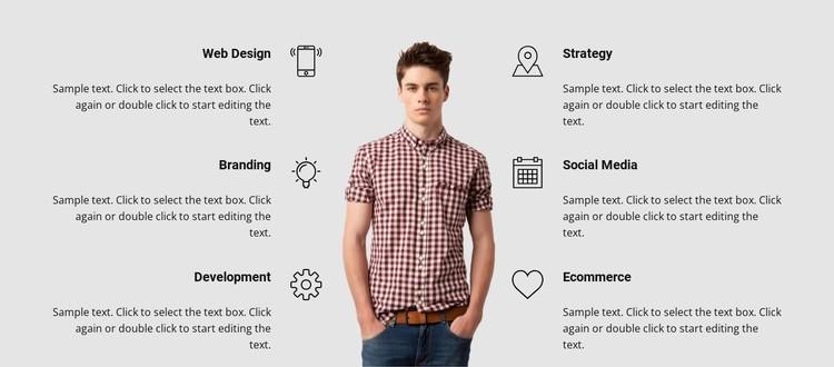 Branding and development CSS Template