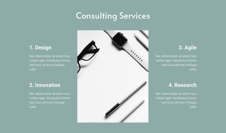 Law consulting services Html Website Builder