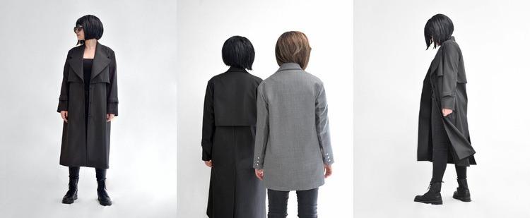 Галерея с осенней одеждой HTML шаблон
