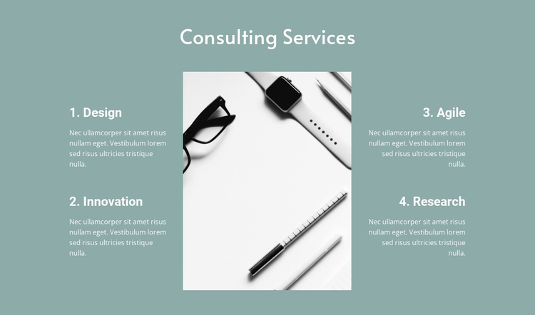 Law consulting services Website Builder Software