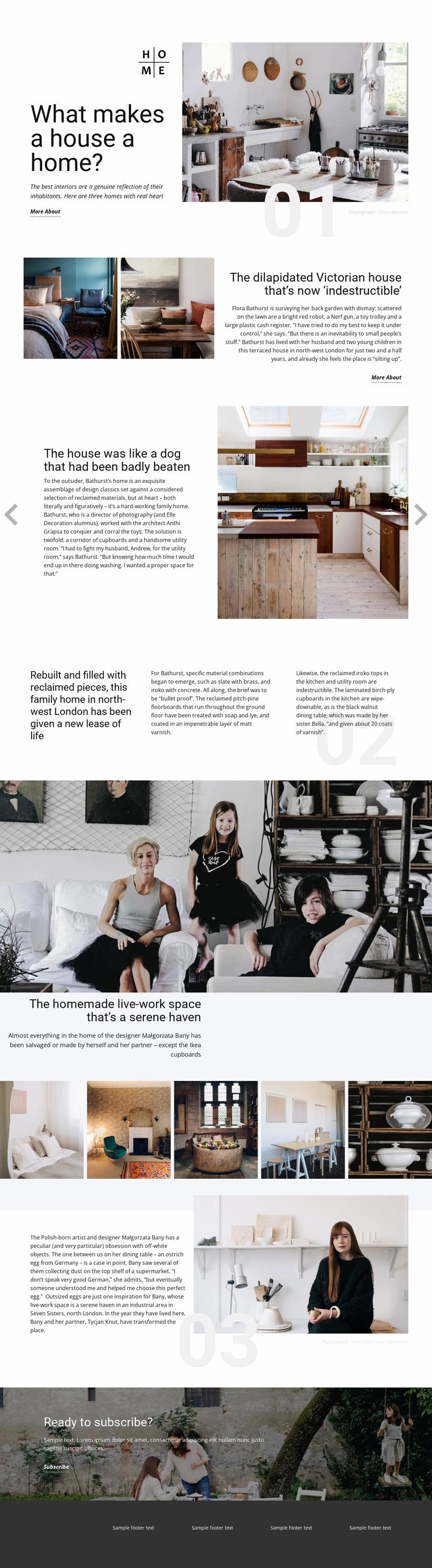 Your Home Website Design