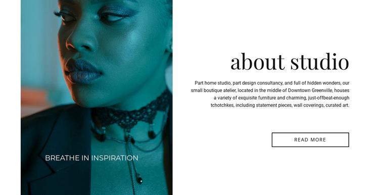 Makeup salon HTML5 Template