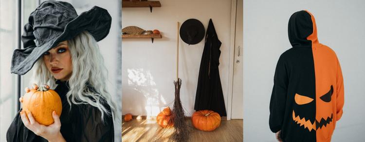 Halloween art gallery Web Design