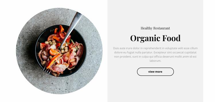 Spicy food Web Page Design
