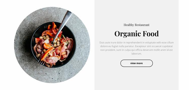 Spicy food Website Mockup