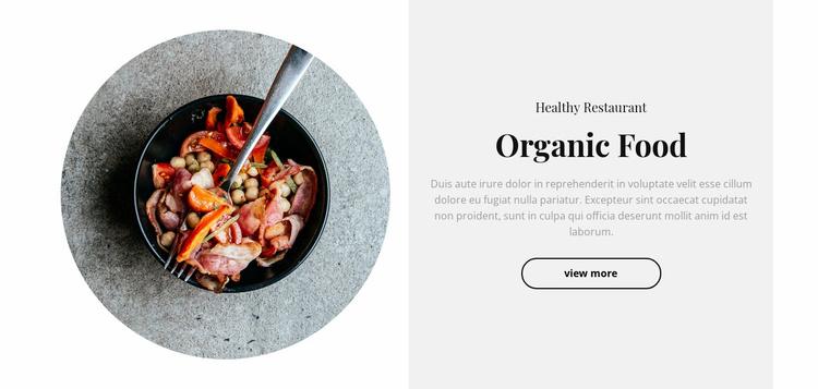 Spicy food Website Template