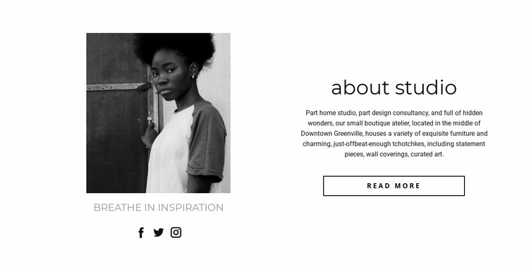 Business promotion Web Page Designer
