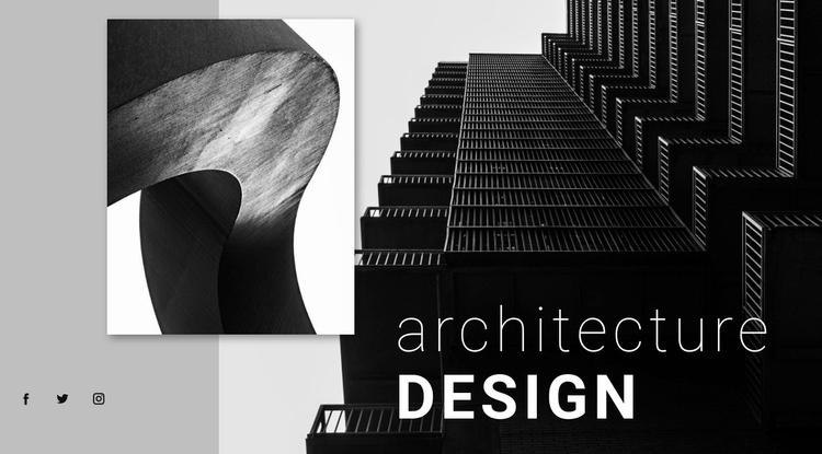 Architecture department Website Template