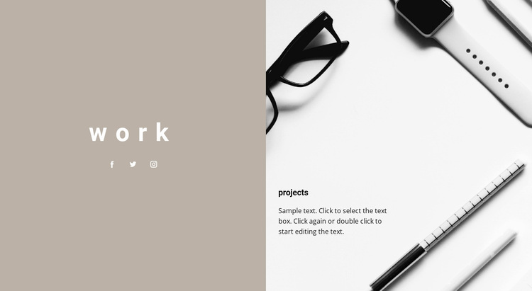 Our projects Website Design