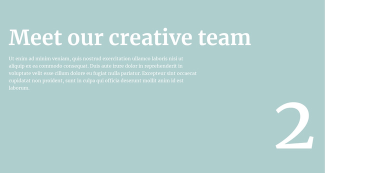 We will tell you about the team Website Builder Software