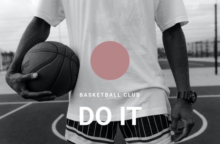 Basketball club Static Site Generator