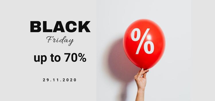 Black friday sale for all Web Page Designer