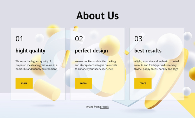 About company Web Page Designer