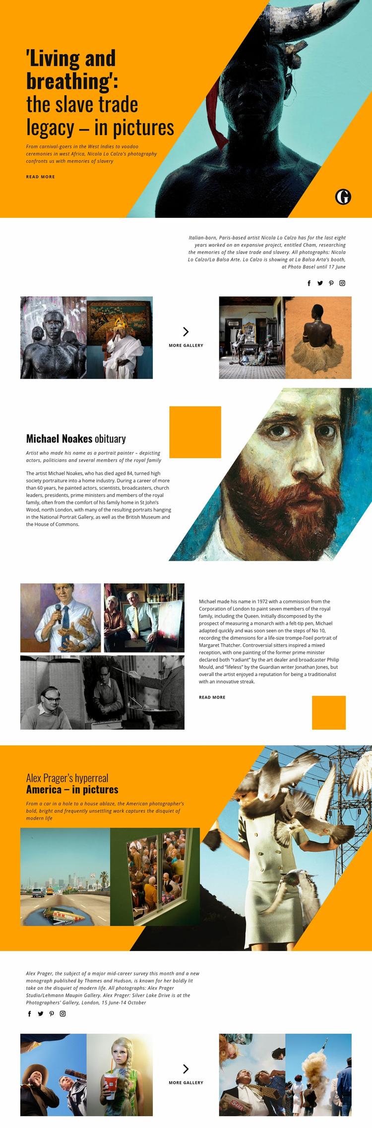Art Studio Web Page Designer