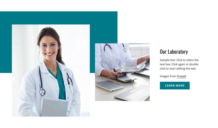 Accredited pathology laboratory Woocommerce Theme