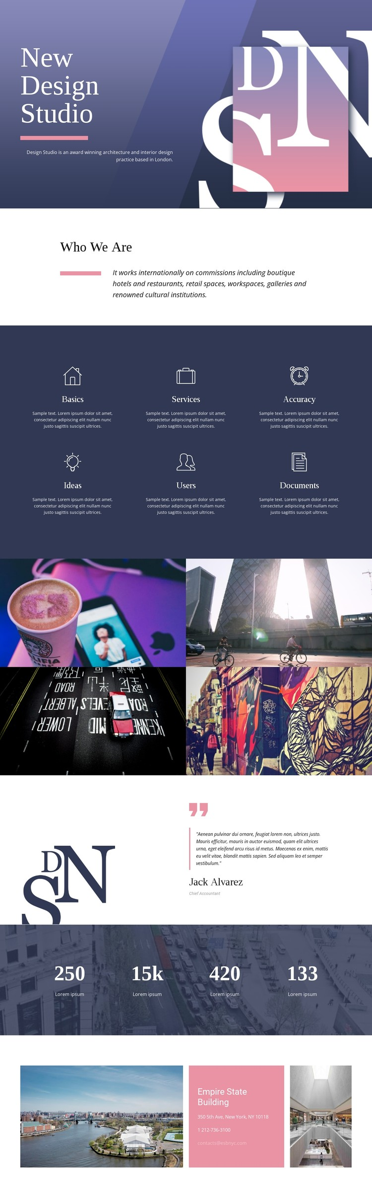 Exceptional web art CSS Template