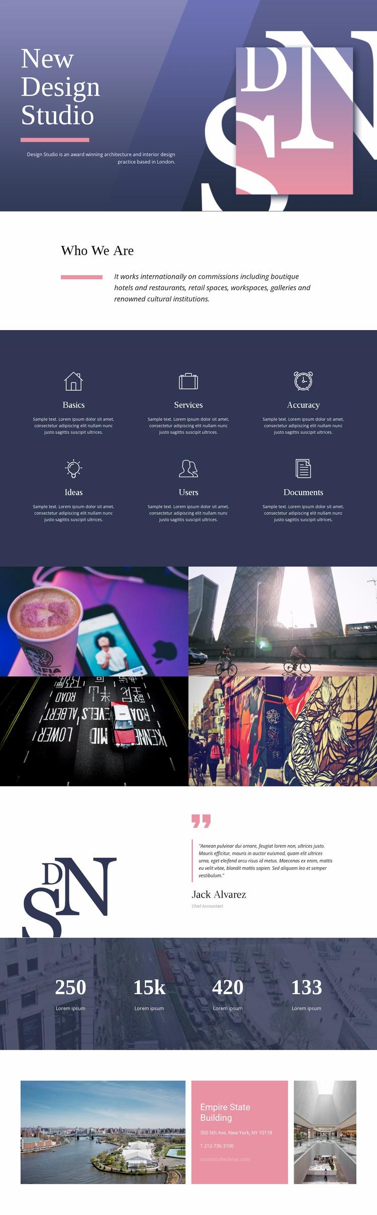 Exceptional web art WordPress Website Builder