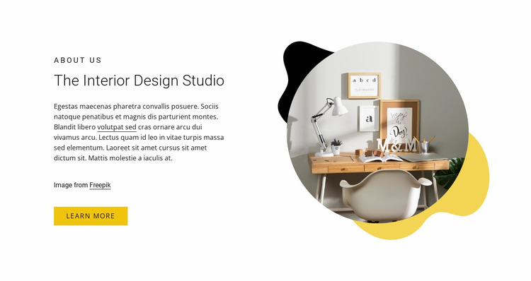 Swedish ultra minimalism Website Mockup