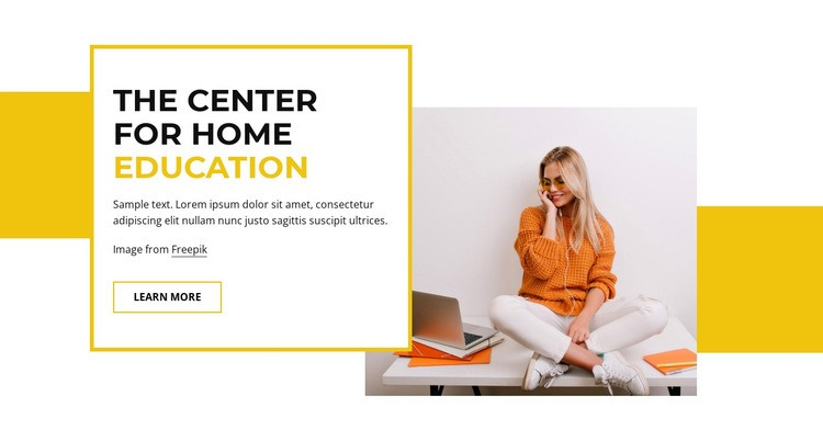 Home education Html Code Example