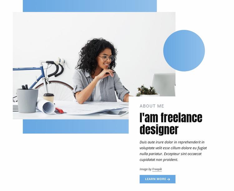 Freelance designer Web Page Design