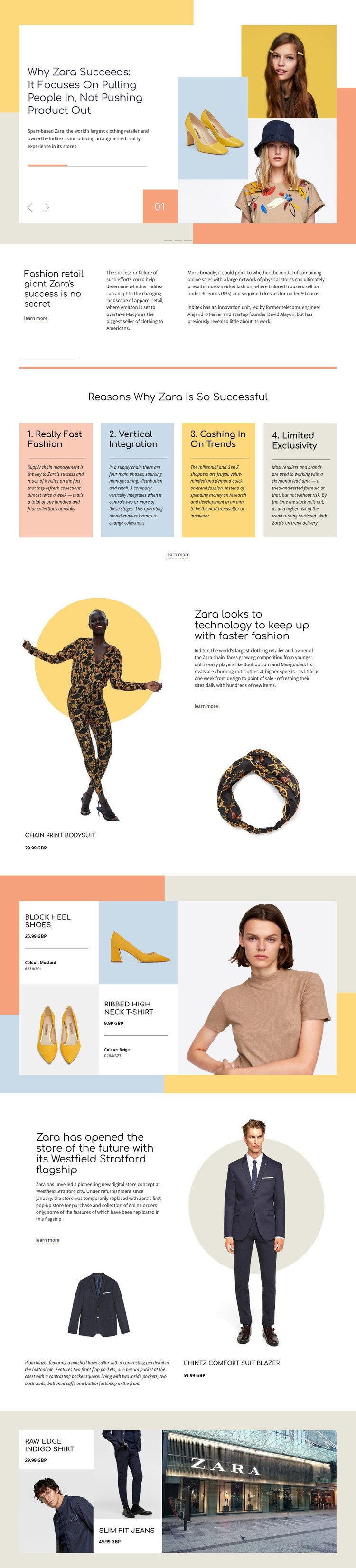 Zara Success WordPress Theme