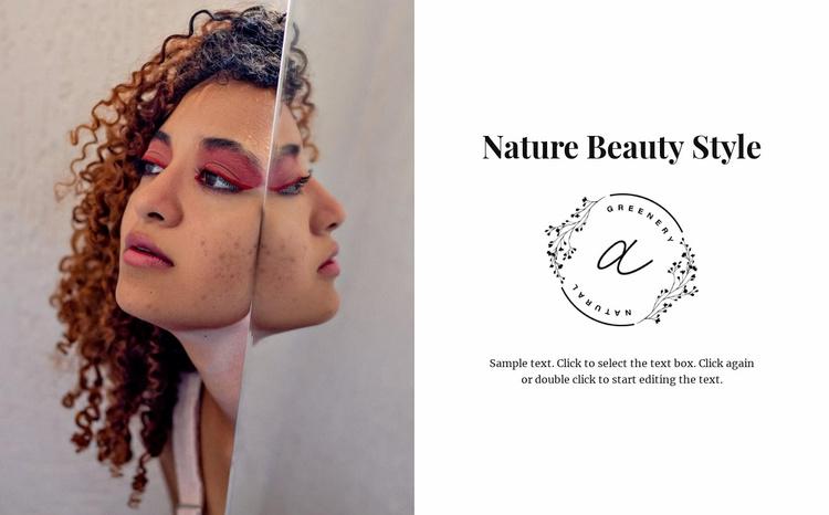 Afro beauty Website Template