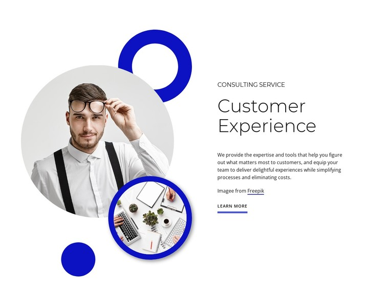 Customer experience Static Site Generator