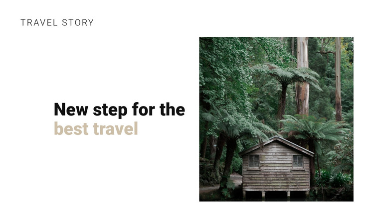 Jungle travel HTML Template