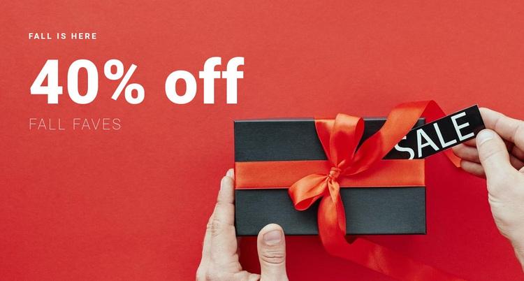 Super sale time Website Design