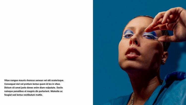 Lux makeup Website Template