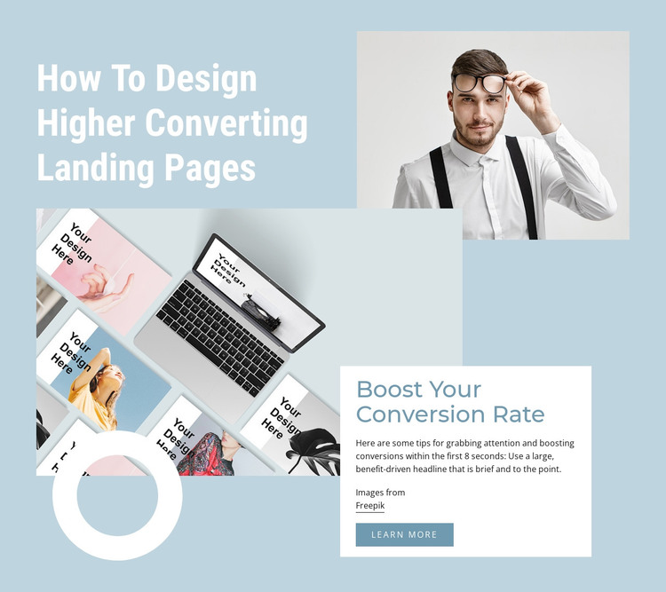 Boost your conversion rate WordPress Theme