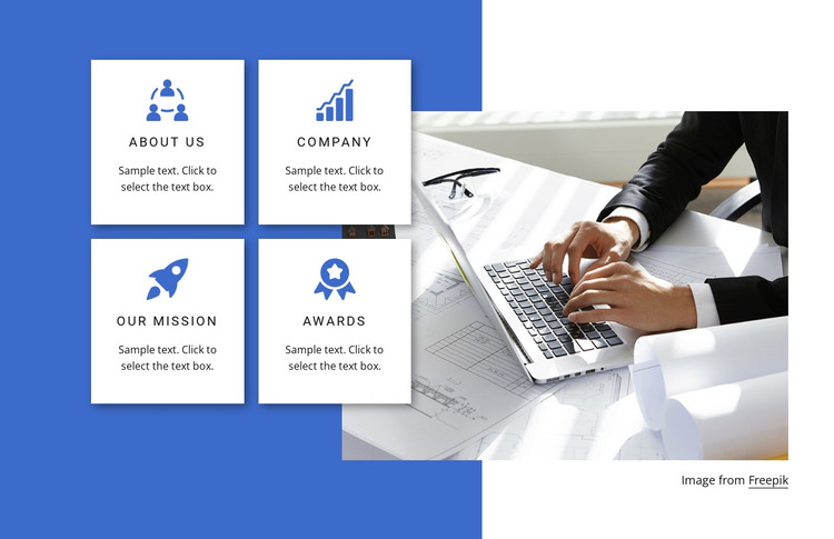 Largest consulting firm HTML Template