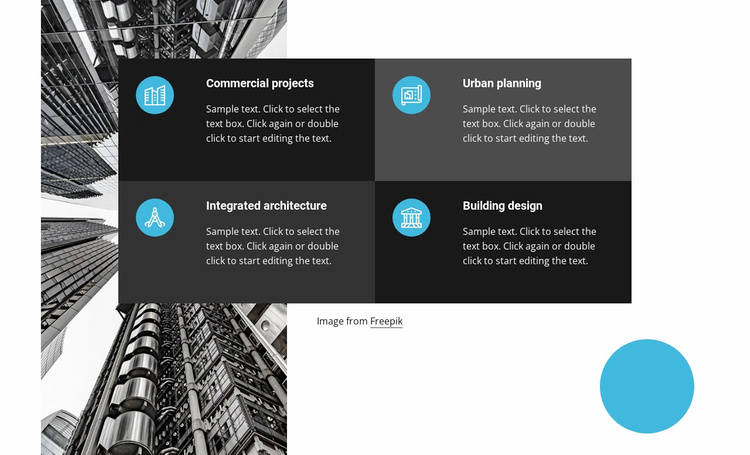 Family-owned construction firm Website Template