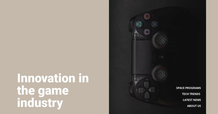 Innovation in game industry Wysiwyg Editor Html
