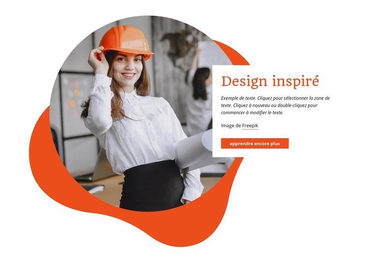 Nous construisons respectueux de l'environnement Modèle de site Web